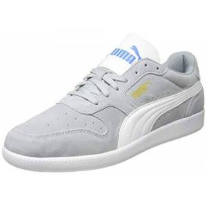 Puma Unisex'S Icra Trainer Sd Sneakers, Grey High Rise White Palace Blue Team Gold 46, 5 Uk