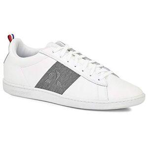 Le Coq Sportif Unisex Adults Courtclassic Strap Grey De Sneaker, Optical White/gray Denim, 9 Uk
