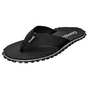 Gumbies - Duckbill Flip-Flops (Black, Uk 5)