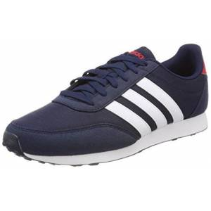Adidas Men'S V Racer 2.0 Trainers, Blue (Collegiate Navy/footwear White/scarlet), 6.5 Uk 40 Eu