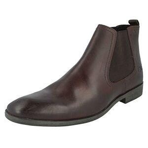 Base London Mens Boots Saffron In Waxy Brown 9 Uk