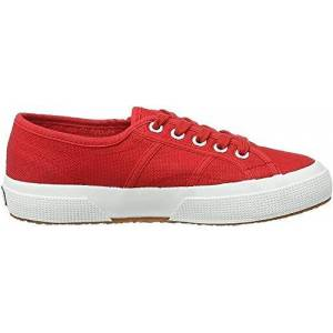 Superga 2750 Cotu Classic, Unisex Adults' Fashion Low-Top Sneakers, Red (Red-White), 5 Uk (38 Eu)