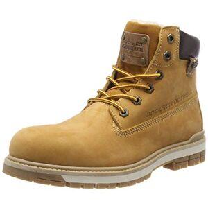 Dockers By Gerli 43lu101, Men'S Combat Boots Combat Boots, Yellow (Golden Tan 910), 10 Uk (44 Eu)
