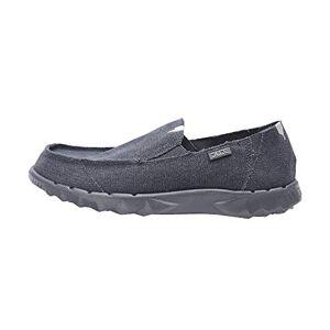 Dude Shoes Hey Men'S Farty Roughcut Night Blue Uk12 / Eu46