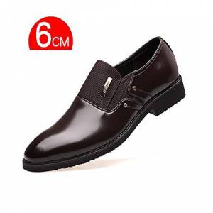 Yuanzhiws Men'S Shoes With Low Rubber Soles And Leather Smooth Comfortable Oxford Shoes High-End Classic Business (Color : Brown, Size : 5uk)
