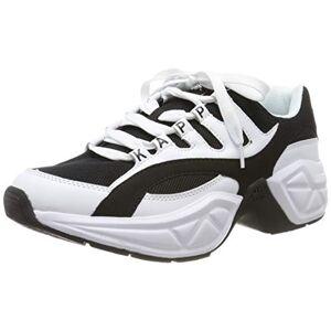 Kappa Unisex Adults Overton Low-Top Sneakers, (White/black 1011), 5 Uk