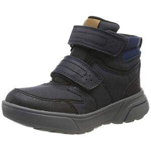 Geox Boys J Sveggen B Abx C Classic Boots, Blue (Navy/black C0045), 5 Uk
