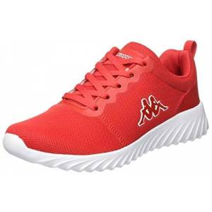 Kappa Unisex Adults Ces Nc Sneaker, 2010 Red/white, 5 Uk