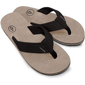 Volcom Men'S Victor Flip Flop Sandal, Khaki, 8 M Us