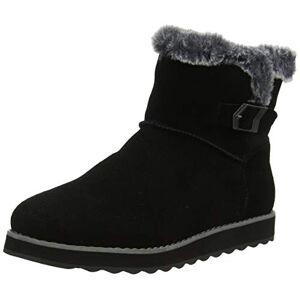 Skechers Keepsakes 2.0, Women Ankle Boots, Black (Black Suede Blk), 8 Uk (41 Eu)