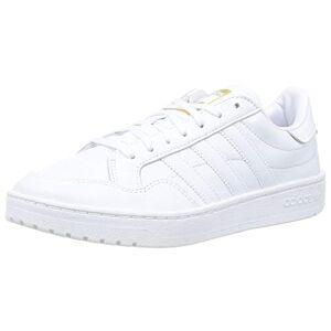 adidas Team Court, Men'S Sneaker, Ftwr White Ftwr White Core Black, 11 Uk (46 Eu)