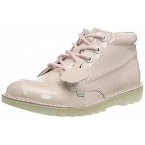 Kickers Women Kick Hi Ankle Boots, Multicolour (Light Pink/clear Pnk), 6 Uk