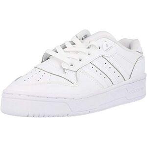 adidas Originals Rivalry Low J White Leather 3 Uk Junior
