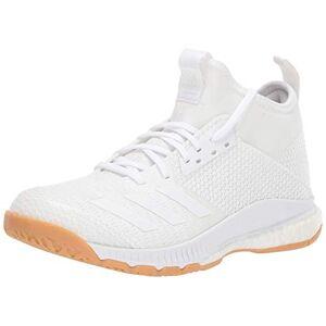 adidas Women'S Crazyflight X 3 Mid Shoes Volleyball, White/white/gum, 6.5 Uk