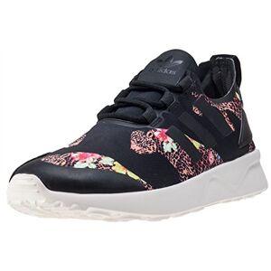 adidas Women'S Zx Flux Adv Verve Low-Top Sneakers, Multicolor (Core Black/cwhite/core Black), 5 Uk 38 Eu