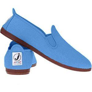 Funkyfashion Unisex Womens Mens Ladies Javer Flossy Espadrilles Plimsoll Flat Shoes Pumps (36 (Uk3), Turquoise)