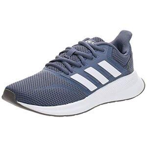 adidas Women'S Runfalcon Trail Running Shoes, Multicolour Indnat Ftw Bla Gritre 000, 4.5 Uk
