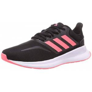 adidas Runfalcon K, Unisex Kid'S Sneaker, Negbs/rossen/ftw Bla, 11.5k Uk (30 Eu)