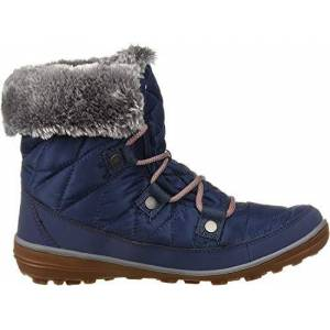 Columbia Women'S Heavenly Shorty Omni-Heat Ankle Boot, Zinc, Red Canyon, 6.5 Uk