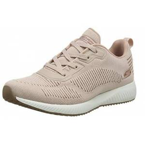 Skechers Bobs Squad - Glam League, Women'S Low-Top Trainers, Pink (Blush Engineered Knit/rose Gold Trim Blush), 2.5 Uk (35.5 Eu)