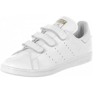 adidas Stan Smith Cf, Men'S Running Shoes, White (Ftwr White/ftwr White/gold Met.), 6.5 Uk (40 Eu)