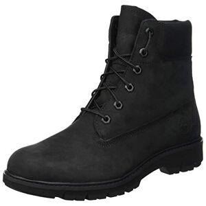 Timberland Women'S Lucia Way 6 Inch Waterproof Lace-Up Boots, Black (Black Nubuck), 5 Uk 38 Eu
