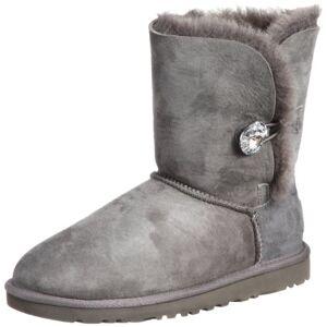 Ugg Bailey Button Bling 1016553-Blk, Womens Snow Boots Snow Boots, Gray (Grey), 5 Uk (38 Eu)