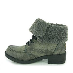 Rocket Dog Women'S Teagan Warm Fleece Lined Lace Up Ankle Boot Uk4 - Eu37 - Us6 - Au5 Black