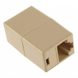 NSH Professional Small Size RJ45 for CAT5 Ethernet Cable LAN Port 1 to 1 Socket Splitter Connector Adapter