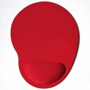 RoxTop Eva Foam 3D Mouse Pad Wrist Rest Mousepad Wristbands Pad Mousepads For Gamer(red)