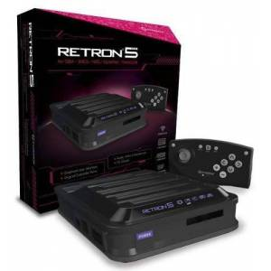Hyperkin RetroN 5 Retro Video Gaming System (5 in 1) - Black (Electronic Games)