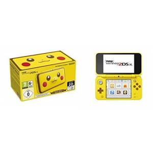 Nintendo New 2DS XL Pikachu Edition Wi-Fi Yellow portable game console