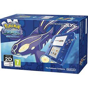 Nintendo Handheld Console 2DS - Transparent Blue with Pokemon Alpha Sapphire