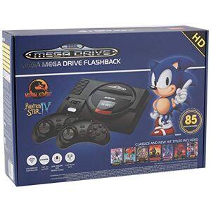 AT Games Arcade Classic Sega Mega Drive Flashback Wireless Mini HD Console EU (Electronic Games)