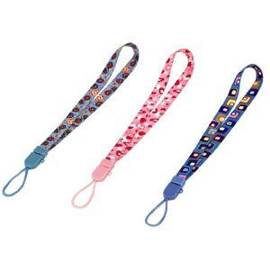 Hama Hand Strap for the Wiimote & DS Lite, 3pcs./Set, GirlsCamera Kits (3Pcs./Set, Girls, Multicolour)