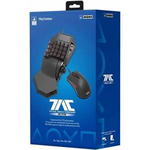 HORI TAC Pro Type M2 Programmable KeyPad and Mouse Controller for PlayStation 4