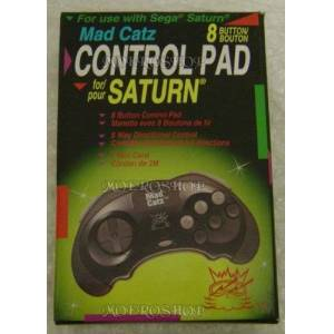 SATURN - madcatz 8 buttons control pad - x24 pack