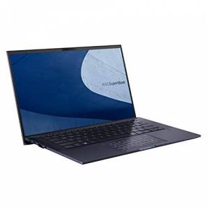 """Asus ExpertBook B9450 Full HD 14"""" Laptop (Intel i7-10510U, 16GB RAM, 512GB M.2 NVMe SSD, 24hr Battery, Backlit Keyboard, Windows 10 Pro, TPM, NumberPad) - Includes Sleeve & Micro HDMI to RJ 45 cable"""