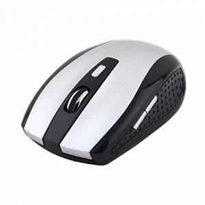 RoxTop 2.4GHz Wireless Optical Mouse Mice with USB Receiver For PC Laptop New(silver)