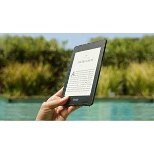 """Amazon Kindle Paperwhite Waterproof, 6"""" High-Resolution Display, 32 GBwith AdsBlack"""