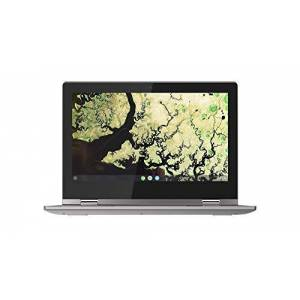Lenovo Chromebook C340 11 Inch (11.6 Inch) HD Convertible Touchscreen Laptop - (Intel Celeron, 4 GB RAM, 32 GB eMMC, Chrome OS) - Platinum Grey