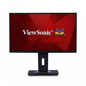 ViewSonic VG2748 27 Inch IPS Full HD Ergonomic Monitor with VGA, HDMI, DisplayPort, 5x USB, Eye Care for Work and Study at Home