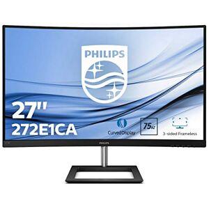 "Philips 272E1CA 27"" Widescreen VA W-LED Black Multimedia Curved Monitor (1920x1080/4MS/VGA/HDMI/DP)"