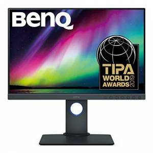 BenQ SW240 24 Inch monitor for photo editing, 1920 x 1200, IPS, Adobe RGB, HDR, 10 Bit, Hardware Calibration