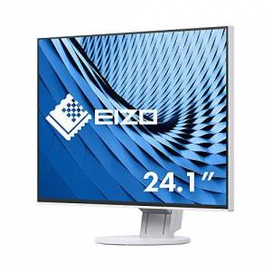 Eizo Flexscan 61.2cm 24.1inch) LED Monitor (ANSI Lumens) white wei 61 cm (24,1 Zoll)