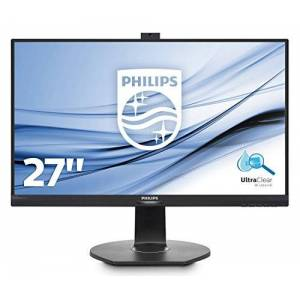 Philips 272P7VPTKEB 27-Inch 4K UHD LCD Monitor with P Line PowerSensor, height adjust stand (VGA/HDMI/DP/Mini DP/USB 3.0/ Built in speakers)