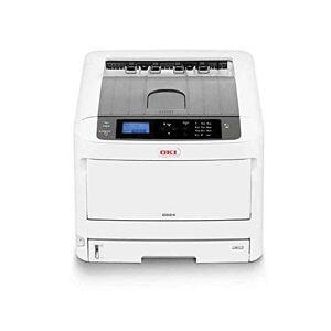Oki C834nw - Printer - colour - LED - A3-1200 x 600 dpi - up to 36 ppm (mono) / up to 36 ppm (colour) - capacity: 400 sheets - USB 2.0, Gigabit LAN, Wi-Fi(n), NFC, USB 2.0 host