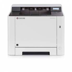 Kyocera Ecosys P5021cdn Colour and Black/White Duplex Laser Printer. Up to 21 Pages per Minute. Mobile Print Support