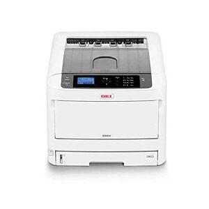 Oki C834dnw - Printer - colour - Duplex - LED - A3-1200 x 600 dpi - up to 36 ppm (mono) / up to 36 ppm (colour) - capacity: 400 sheets - USB 2.0, Gigabit LAN, Wi-Fi(n), NFC, USB 2.0 host