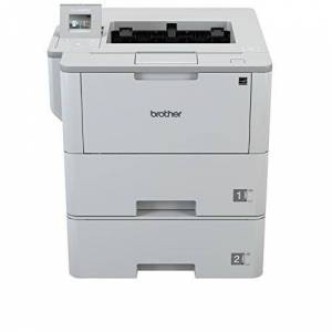 Brother HL-L6400DWT Mono Laser Printer Wireless, PC Connected, Network & NFC Print & 2 Sided Printing A4 Includes Additional Lower Tray